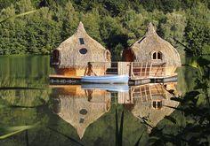 Les cabanes flottantes des Grands Lacs