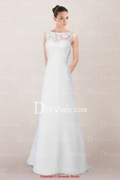 Comely A-line Bridal Gown Featuring Lace Cover and Criss-cross Pleated Cummerbund