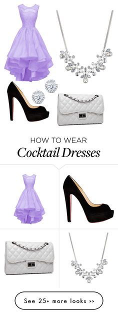 """Prom night"" by amckechnie on Polyvore featuring Christian Louboutin, Bense Bags, Kobelli and Givenchy"