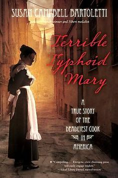 How did the name Mary Mallon become synonymous with the deadly disease of typhoid? Who is really responsible for the lasting legacy of Typhoid Mary? In the biography, Bartoletti uncovers the truths and debunks the myths. Available as an Available as an e-book on Overdrive and as audio CD.