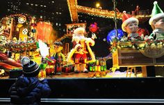 Macy's Herald Square | Holiday Window Displays 2014