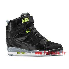 chaussure-montante-nike-pas-cher-pour-femme-nike-air-revolution-sky-hi-gs-noir-vert-599410-012-5.jpg (750×750)