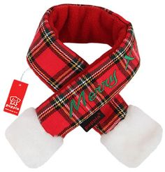 $10.00-$10.00 Puppia Santa Claus Scarf, Large, Checkered Red - The puppia santa scarf is another must have holiday accessory. Matches the hat as well as the santa coat (both sold separately). It sure is to be a hit at family gatherings. http://www.amazon.com/dp/B005XTZIEQ/?tag=pin2pet-20