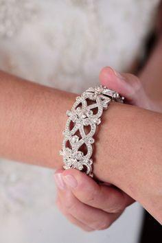 Diamond bracelet: http://www.stylemepretty.com/2011/05/19/charlotte-wedding-by-kristin-vining-photography/ | Photography: Kristin Vining