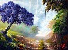 pintura de paisagens e marinhas