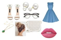 """""""Invited to a wedding"""" by ohwhatshername on Polyvore featuring Allurez, Lime Crime and Under One Sky"""
