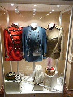 Various uniforms of Tsar Nicholas II