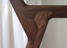 Y-Table - designed by Scott Jarvie for Delupo - woodworking joint detail #furnituredesign #table #scottjarvie