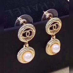 Chanel earring ✨✨ #chanel #chaneljewelry #chanelearrings