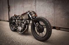 Honda CB125 custom motorcycle