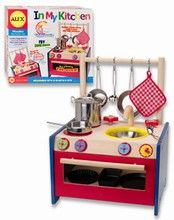 Oven, stovetop and sink in one (Accessories shown not included) Lightweight, great for indoor and outdoor fun - $34.99 [Awards: The National Parenting Center's Seal of Approval]