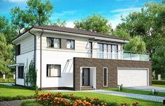 Projekt domu piętrowego Zx26