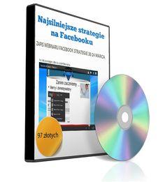Najsilniejsze strategie na Facebooku - okładka związana z kursem nt. marketingu