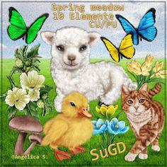 Dagny`s Scrap und Grafik Design: CU/PU Spring meadow
