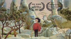 """""""Travelling Through Brush and Ink"""" is a stop-motion animation of a little modern man traveling through four significant ancient Chinese paintings, transforming himself into animals and plants, and becomes part of the nature. Each painting represents four important stages of landscape art in Chinese history. Based on the original paintings, we built the sets and animated little character inside- all frame by frame. The animation is"""