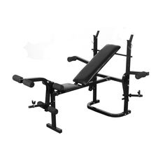At Home Gym Workout Folding Weight Bench Fitness Exercise Machine Body Training