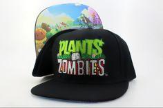 Bio Domes Plants vs Zombies Logo Snapback 7467