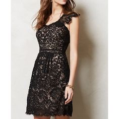 Shop Women's Yoana Baraschi Black size 4 Dresses at a discounted price at Poshmark. Description: Stunning Limited Edition Yoana Baraschi lace black dress. Originally purchased from Anthropologie. Only worn a couple of times. Size 4. Sold by sarahsesh. Fast delivery, full service customer support.