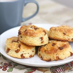 Cinnamon-Eggnog Scones by Tracey's Culinary Adventures. If I'm going to cheat, it's going to be for this