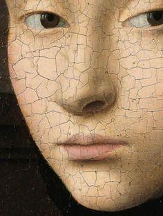 Petrus Christus -Portrait of a Young Girl, circa Renaissance Paintings, Renaissance Art, Georges Seurat, Pablo Picasso, Girl Face Drawing, Vaporwave Art, Classic Paintings, Jan Van Eyck, Traditional Paintings