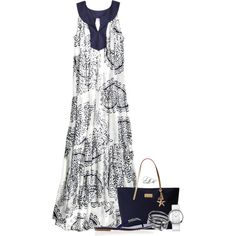 """Vacation State of Mind"" by tmlstyle on Polyvore"