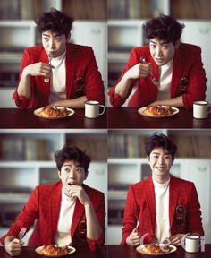 Park Min Woo - Ceci Magazine August Issue '14
