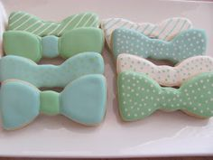 Sweet Expectations: Little Guy in a Tie Surprise Baby Shower