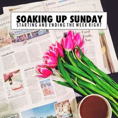 College Prep: Soaking Up Sunday