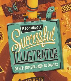 Inspiration | 2D Orange Book Cover Illustration By Steve Simpson