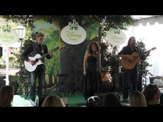 """Blue Sky Riders perform """"House at Pooh Corner"""" at the Disney Baby Store Opening at the Americana in Glendale, CA.  Kenny Loggins   Georgia Middleman   Gary Burr"""