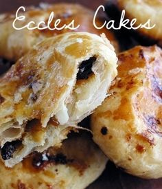 Bizarre and mouthwatering Eccles cakes.   23 Classic British Dishes To Keep You Warm Through The Long, Dark Winter