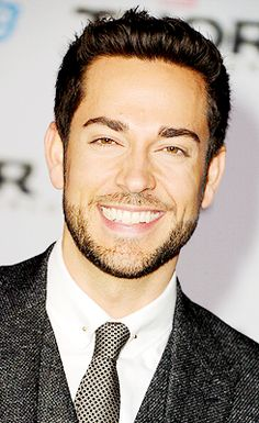 Zachary Levi he has the best smile