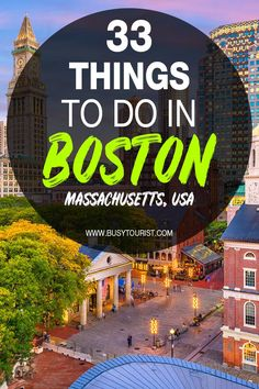 Wondering what to do in Boston, MA? This travel guide will show you the best attractions, activities, places to visit & fun things to do in Boston, Massachusetts! Start planning your itinerary and bucket list now! #boston #bostontravel #massachusetts #massachusettstravel #usatravel #usaroadtrip #travelusa #ustravel #ustraveldestinations #americatravel #travelamerica