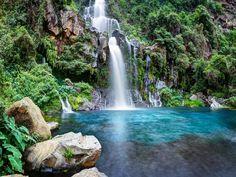 Cascade Aigrette (Ile de la Réunion - France)