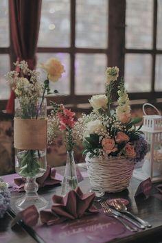 vintage table decoration