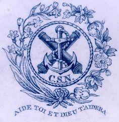 Confederate Navy emblem
