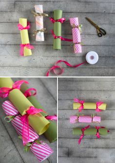 DIY: christmas crackers