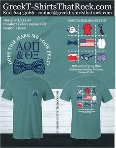 change front to basic ISU greek week logo or cy or something, make back a tic tac toe of ISU things like cy, campanille, swans, etc Fraternity Shirts, Sorority And Fraternity, Sorority Shirts, Fraternity Formal, Sorority Quotes, Rush Shirts, Greek Shirts, Spirit Wear, Comfort Colors