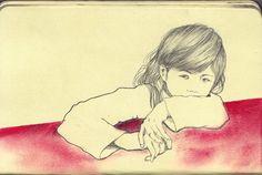 sketch by Yoshinori Kobayashi, via Flickr