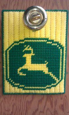 John Deere Doorknob Hanger that I designed