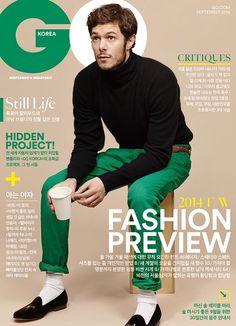 Adam Brody Covers GQ Korea September 2014 Issue image GQ Korea Adam Brody 001