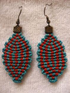 Macrame Rings, Macrame Jewelry, Sashiko Embroidery, Micro Macramé, Macrame Design, Jewelry Companies, Ring Earrings, Crochet Projects, Crochet Earrings
