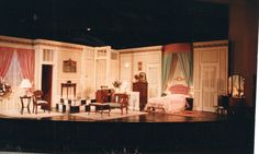 Lend Me A Tenor Flint Central High School October 1998 Scenery and Lighting Designed by Martin W. Jennings