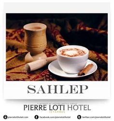 Sahlep is one of the famous beverages in Turkey made from sahlep flour before the popularity of coffee and tea arise and later became an alternative drink in coffee houses. To make the drink more attractive, they spread cinnamon over it before serving it.