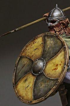 Viking | Miniatures painted by Sergey Popovichenko