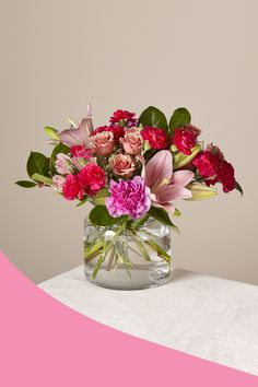 Whether you're shopping for your spouse, your mom, your Galentine or anyone special in your life, ProFlowers has the right Valentine's Day gift for you. Exotic Flowers, Pretty Flowers, Fresh Flowers, White Flowers, White Flower Arrangements, Flower Vases, Spring Wedding Decorations, Flower Decorations, My Funny Valentine