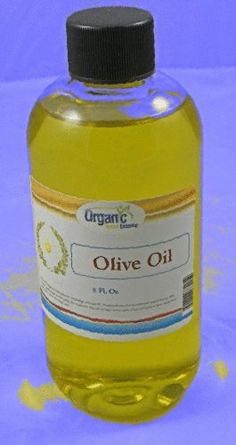 olive oil - 100% Pure and Organic 8 Oz
