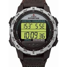 Timex Expedition Digital Compass Watch Indiglo Water Resistant for sale online Timex Watches, Seiko Watches, Fitness Watches For Women, Watches For Men, Wrist Watches, Timex Indiglo, Timex Expedition, Mens Digital Watches, Popular Watches