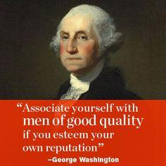 motivational inspirational quote by Washington