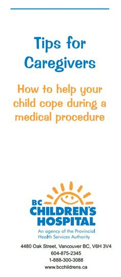 How to Help Your Child Cope During a Medical Procedure